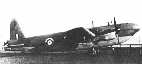Vickers wellington mk v a vi